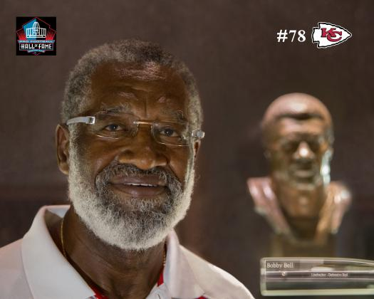 Hall of Fame linebacker Bobby Bell will speak at the NJCAA championship banquet in Pittsburg. (Photo courtesy Crawford County CVB)