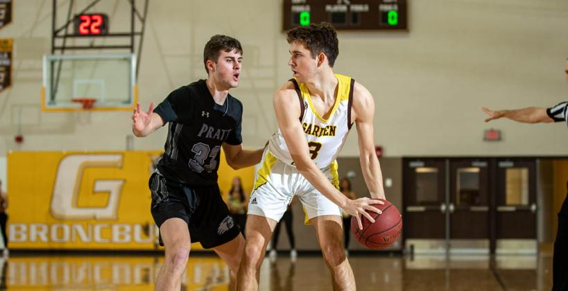 St. John native Mason Osborne continues to navigate the transition to the collegiate level at Garden City Community College. (Photo courtesy GCCC Athletics)