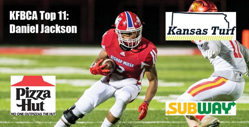 KFBCA Top 11: Daniel Jackson, brought to you by Kansas Turf, Pizza Hut and Subway. (Photo by Kenny Daniel)