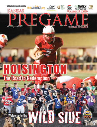 Hoisington is on a mission to prove that last year's semifinal upset at the hands of Norton was a fluke. The Cardinals should be a favorite in the next three games, though Phillipsburg and Minneapolis are no pushovers, and the final two games of the year feature a pair of tough match-ups with Norton and Beloit. (Photo by Joey Bahr)