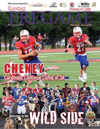 Cheney dismantled Garden Plain last week and appears headed for another deep run in the playoffs thanks to the emergence of junior QB Harrison Voth. (Photo by Jean Nance, Times-Sentinel Newspapers)