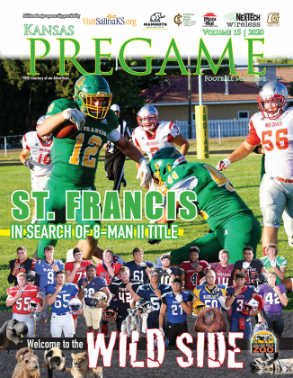 St. Francis appears to be a team on a mission to win the 8-Man II title game this year after falling to Canton-Galva in the 8-Man I game last fall. (Photo by Shawna Blanka)