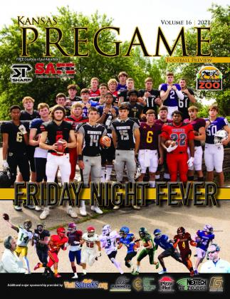 Kansas Pregame's 2021 Football Preview is now online. Hard copy deliveries begin late this week.