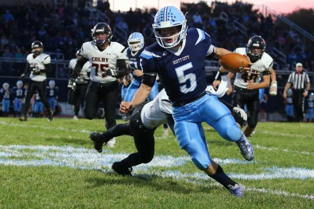 Parker Gooden spent the last two seasons as the Beavers starting quarterback, but coach Jim Turner anticipated moving him to running back this offseason. (Photo by Everett Royer, KSportsImages.com)