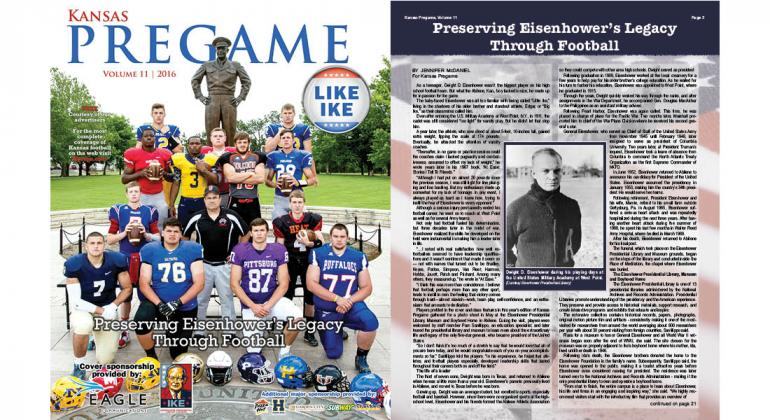 Our 2016 Football Preview paid tribute to President Dwight D. Eisenhower and his legacy in football.