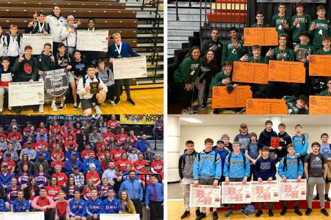Wrestlers from across Kansas will attempt to punch their ticket to State at this weekend's Regional tournaments.