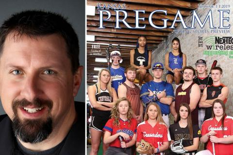 Kansas Pregame publisher John Baetz talks about KSHSAA's decision to cancel the remainder of the state basketball tournaments and announces revisions to plans for the Spring Edition.