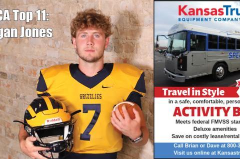 Reagan Jones, Wichita Northwest, brought to you by Kansas Truck Equipment. (Photo by Bree McReynolds-Baetz)