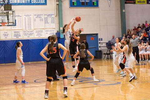 Scott City and Colby's girls are ranked fifth and sixth respectively in class 3A. (Photo by Carrie Towns Photography)