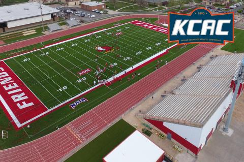 Friends University's new multi-purpose playing surface is just one of several Kansas projects completed by Kansas Turf/Mammoth Sports Construction, now the official turf provider of the KCAC.