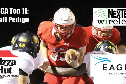 KFBCA Top 11: Wyatt Pedigo, brought to you by Eagle Communications, Nex-Tech Wireless and Pizza Hut. (Photo by Joey Bahr)