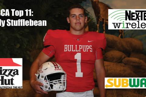 KFBCA Top 11: Cody Stufflebean, brought to you by Nex-Tech Wireless, Pizza Hut and Subway. (Photo by Everett Royer, KSportsImages.com)