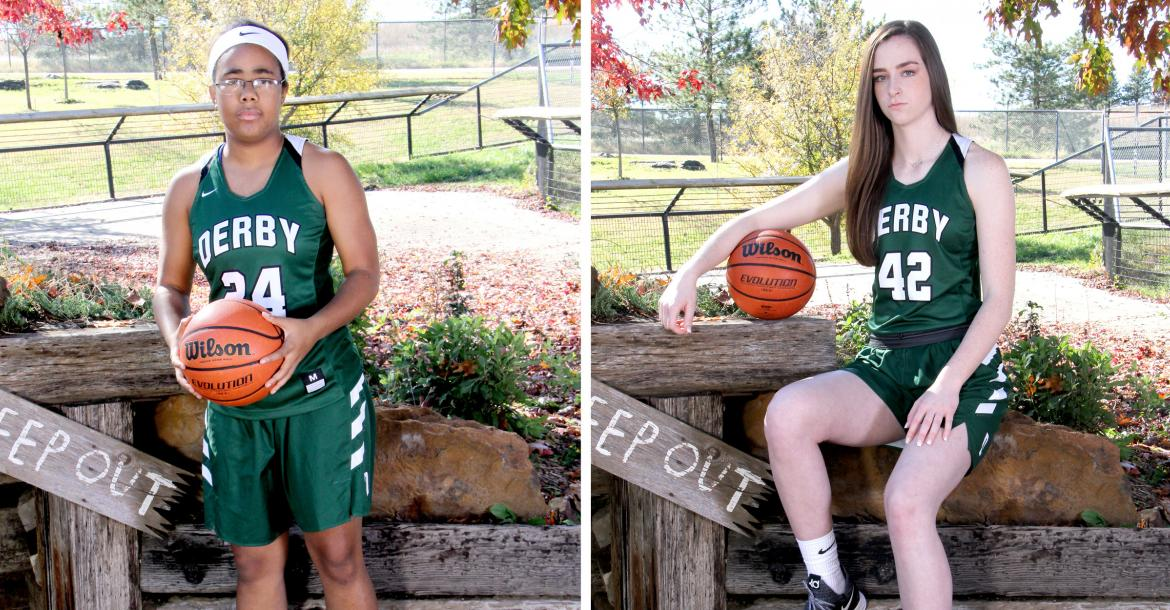 Pictured, left-to-right: Tor'e Alford and Kennedy Brown, Derby (Photos by Bree McReynolds-Baetz Photography)