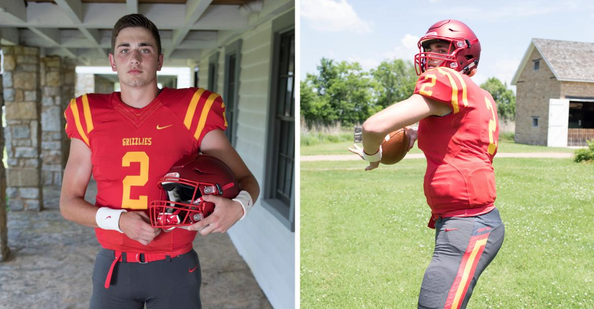 Labette County quarterback Easton Dean was one of the state's top prospects over the last two seasons and after graduating early is already on campus at Iowa State. (Photos by Derek Livingston)