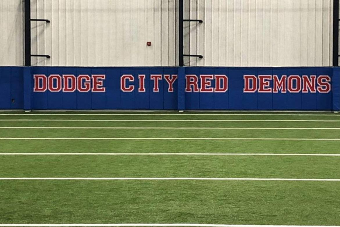 Dodge City's new indoor facility is one of the finest in Kansas. (Courtesy Photo)